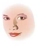 softface royaltyfri illustrationer
