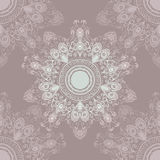 Softly colored seamless hand drawn ornament Royalty Free Stock Photography