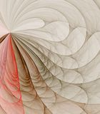 Softly Fan Abstract Royalty Free Stock Photography