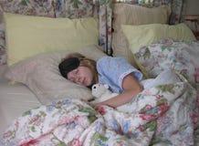Softly sleeping Stock Image