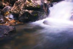 Softness av vattenfallet 2 Arkivfoto