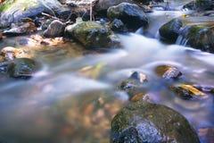Softness av vattenfallet Arkivbilder