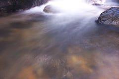 Softness II. Softness of the waterfall, zen water flowing Royalty Free Stock Photo