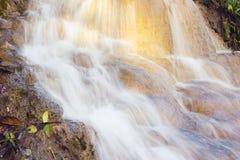 Softness of the Thara rak Waterfall Stock Images
