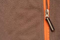 Softshell zipper Stock Photos