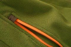 Softshell zipper Royalty Free Stock Photography