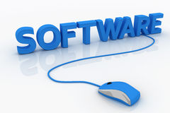 Software Foto de Stock Royalty Free
