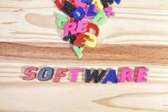 software Fotografia Stock Libera da Diritti