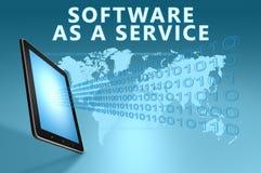 Software als Service stock abbildung