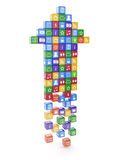 Software application arrow Stock Photos