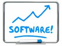 Software Apps Applications Programs Arrow Rising Stock Photos