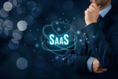 Software as a Service SaaS Stock Photos