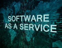 Software as a Service Royalty Free Stock Image