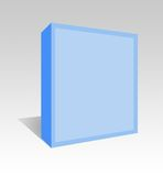 Software box. A blank software box. Add your own text or logo
