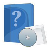Software Box and CD Stock Images