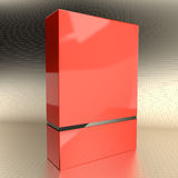 Software box red Royalty Free Stock Photos