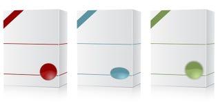 Software box set Royalty Free Stock Images