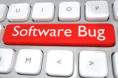 Software Bug concept Stock Images