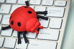Software bug Stock Photo