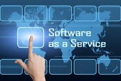 Software como servicio Fotos de archivo libres de regalías