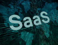 Software como um serviço Imagens de Stock