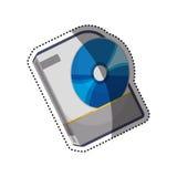 Software computer box. Icon  illustration graphic design Royalty Free Stock Photo