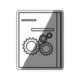 Software computer box. Icon  illustration graphic design Royalty Free Stock Photography
