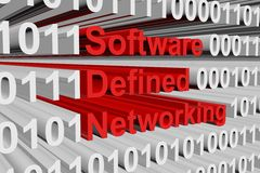 Software defined networking Royalty Free Stock Photography