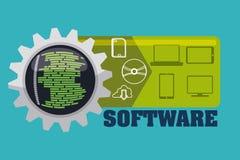 Software-Design Lizenzfreies Stockbild
