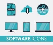 Software-Design Stockfotografie