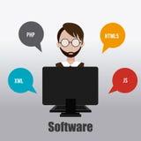 Software-Design stock abbildung
