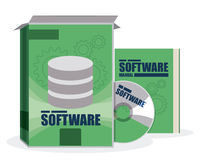 Software design. Royalty Free Stock Images
