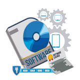 Software design. Royalty Free Stock Photography