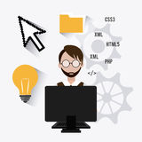 Software design. Stock Images