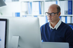 Software developer Royalty Free Stock Photography