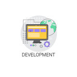 Software Development Computer Programming Device Technology Icon Stock Images