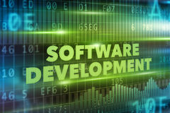 Software development concept Royalty Free Stock Images