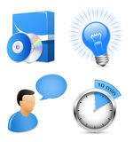 Software Development Icons Royalty Free Stock Image