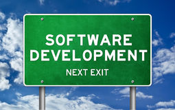 Software Development Stock Image