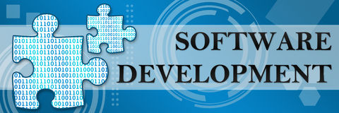 Software Development Techy Background Royalty Free Stock Images