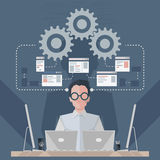 Software Engineer royalty illustrazione gratis