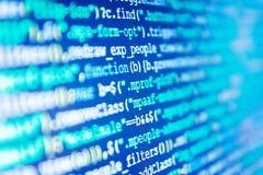 Software Engineer au travail Code de programmation de site Web Les affaires et la technologie d'AI représentent l'apprentissage images libres de droits