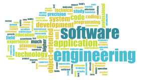 Software Engineering. As a Tech Business Concept Stock Image