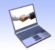 Software finanziario di promessa Immagini Stock Libere da Diritti