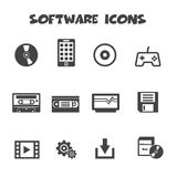 Software icons Stock Photos