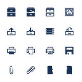 Software icons Stock Image