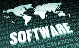 Software. Industry Global Standard on 3D Map