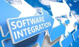 Software-Integration stock abbildung