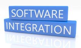 Software-Integration lizenzfreie abbildung