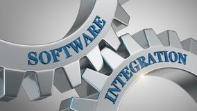 Software integration concept royalty free stock image